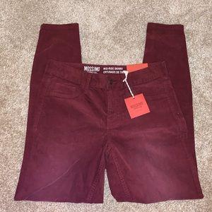 NWT Mossimo Mid-Rise Skinny Corduroy Pants